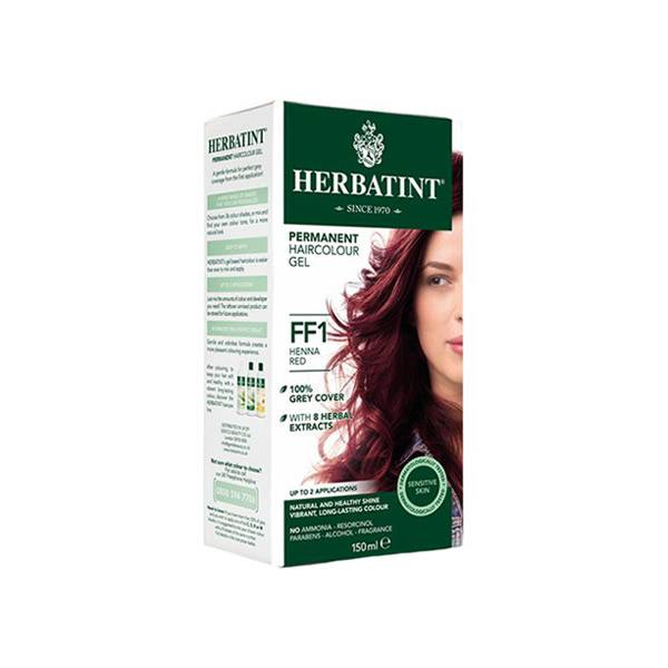 Herbatint Flash Fashion Coloration Permanente Rouge Henné FF1 150ml