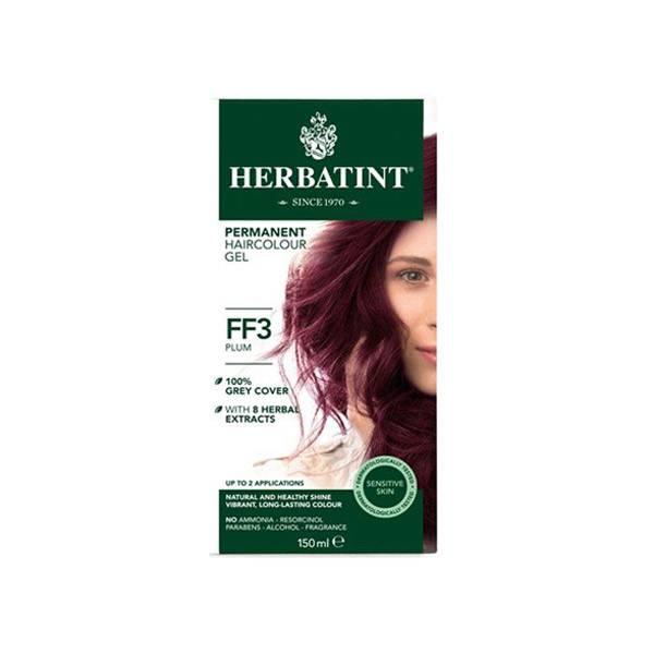 Herbatint Flash Fashion Coloration Permanente Prune FF3 150ml