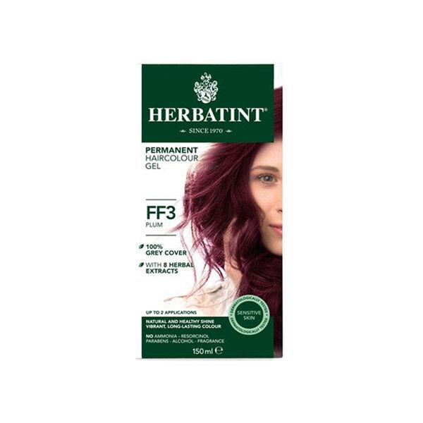 Herbatint Flash Fashion Coloration Permanente Prune FF3 150ml