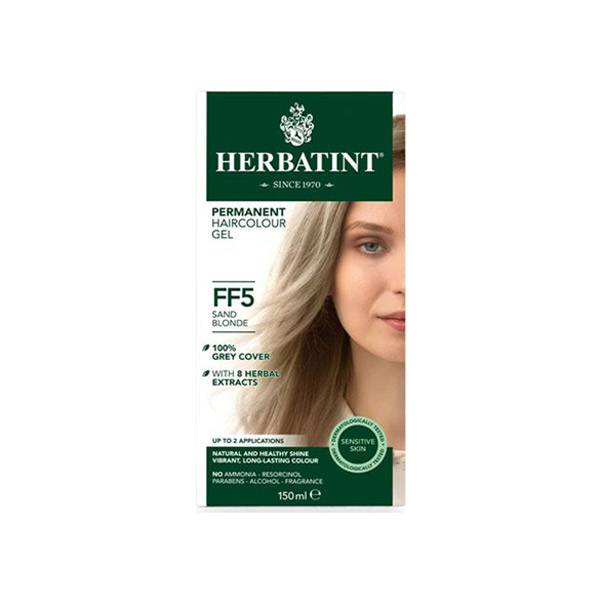 Herbatint Flash Fashion Coloration Permanente Blond Sable FF5 150ml