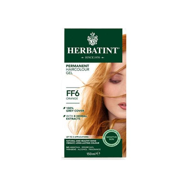 Herbatint Flash Fashion Coloration Permanente Orange FF6 150ml