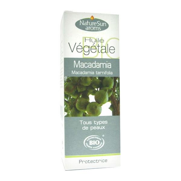 NatureSun Aroms Huiles Végétales Bio Macadamia 50ml