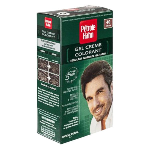 Petrole Hahn Crème Colorante Douce Sans Ammoniaque n°40 Châtain Naturel