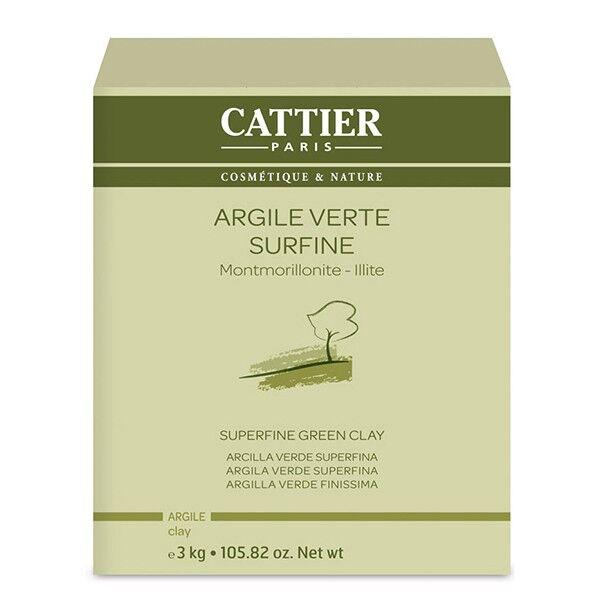 Cattier Argile Verte Surfine 3kg