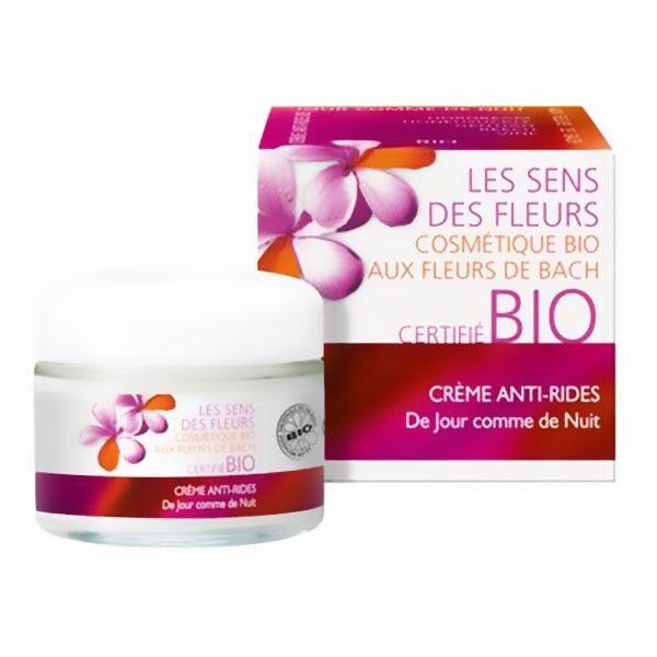 Les Sens des Fleurs Nouvelle Crème Visage Anti-Rides de Jour Comme de Nuit 50ml