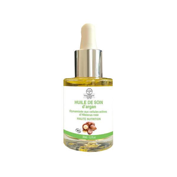 Elixirs & Co Huile de Soin Dynamisée Argan Haute Nutrition 30ml
