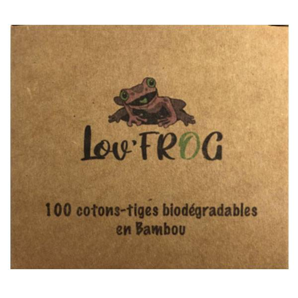 Lov'FROG Cotons Tiges Bambou x100