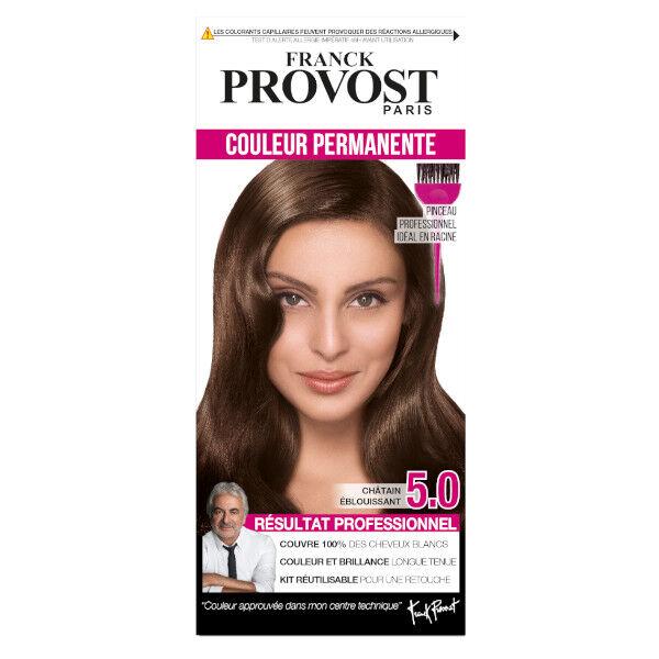 Franck Provost Coloration Châtain Éblouissant 5.0