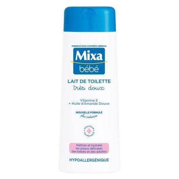 Mixa Bébé Lait de Toilette Très Doux 250ml