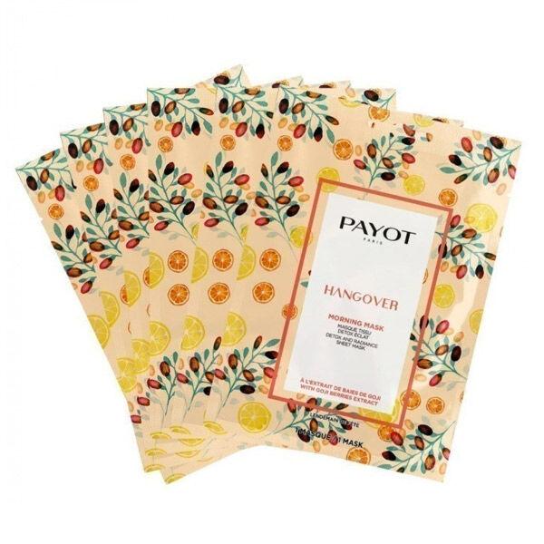 Payot Masque Hangover Eclat 15 masques en tissu