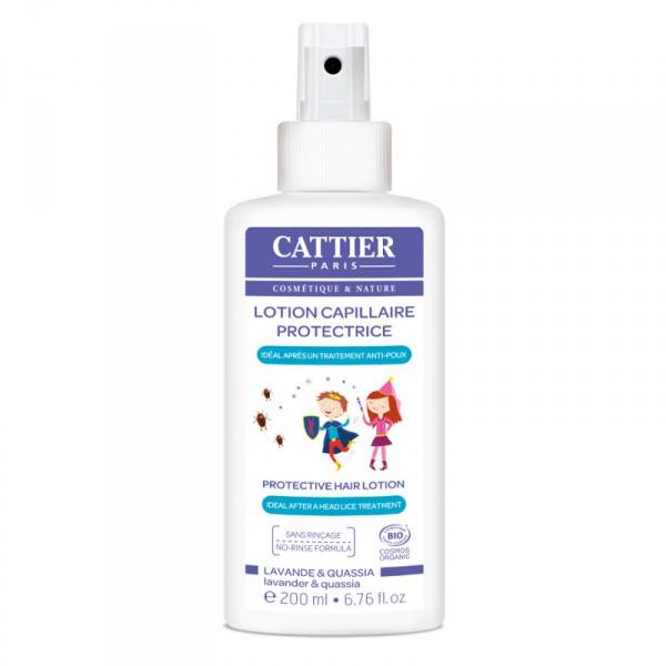 Cattier Lotion Capillaire Protectrice Anti-Poux 200ml