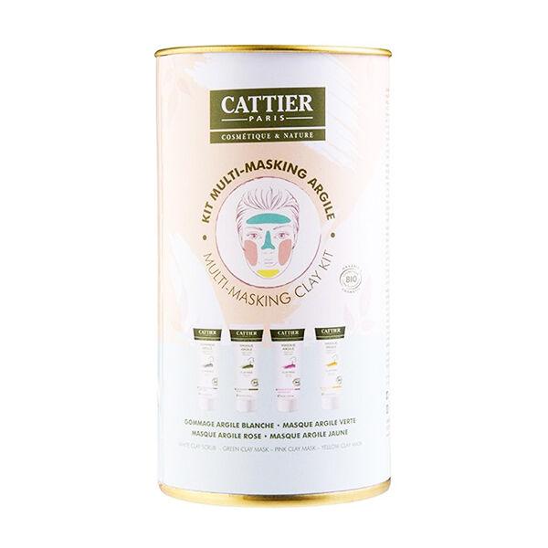 Cattier Coffret Kit Multi Masking Argile