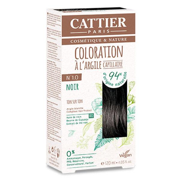 Cattier Coloration Ton sur Ton Noir 1.0 120ml
