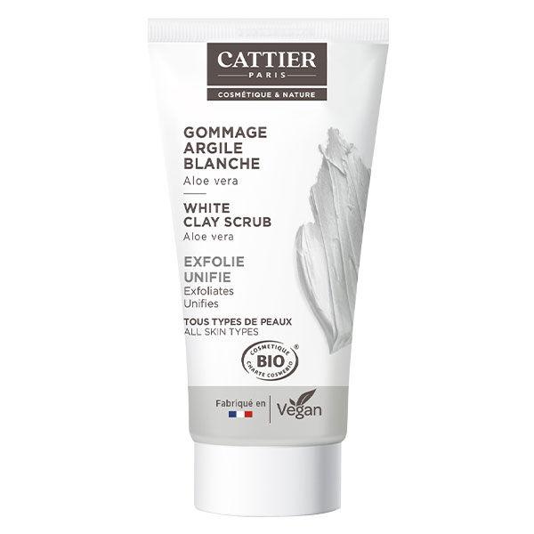 Cattier Argile Blanche Gommage Aloe Vera Bio 30ml