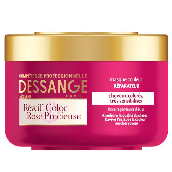 Dessange Réveil'Color Rose Précieuse Masque Couleur Réparateur 250ml