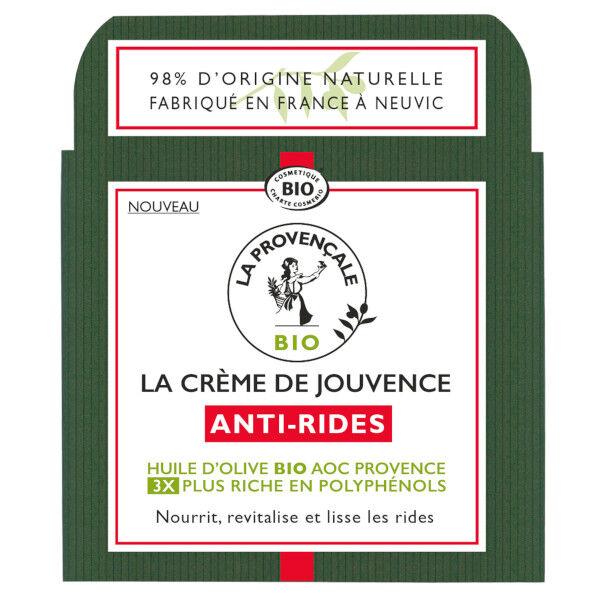 La Provençale La Crème de Jouvence Anti-Rides Bio 50ml
