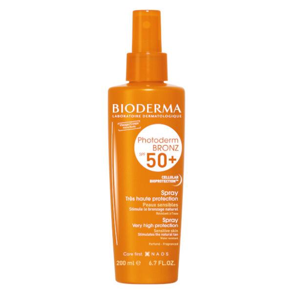 Bioderma Photoderm Bronz Spray Solaire Bronzage Intense SPF50+ 200ml