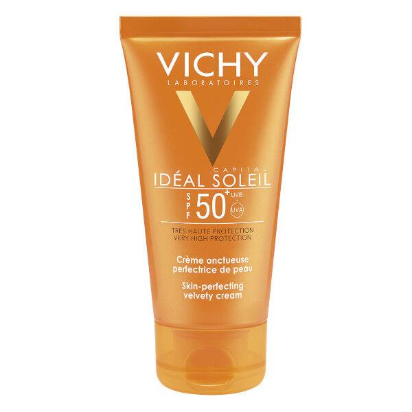 Vichy Idéal Soleil Crème Solaire Visage Onctueuse SPF50+ 50ml