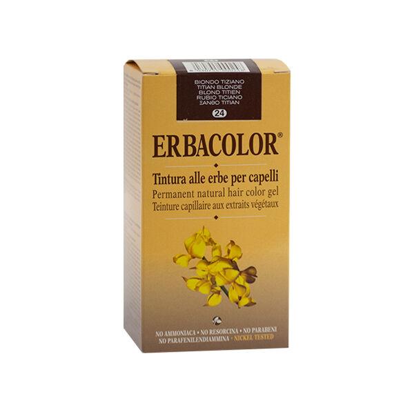 Erbacolor Coloration Blond Titien 24