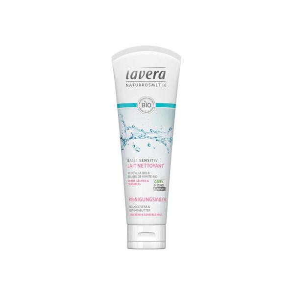 Lavera Basis Sensitiv Lait Nettoyant 2 en 1 125ml
