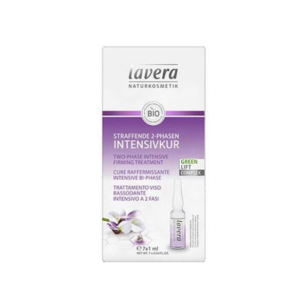 Lavera Green Lift Complex cure Raffermissante Intensive Bio 7 fioles