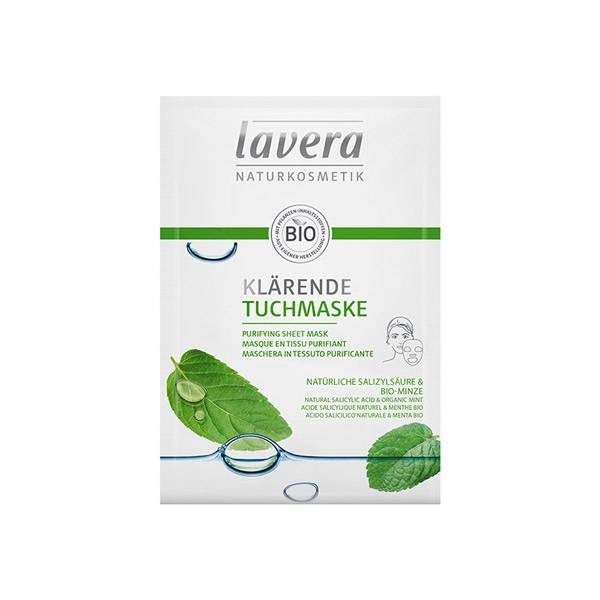 Lavera Masque en Tissu Purifiant Bio