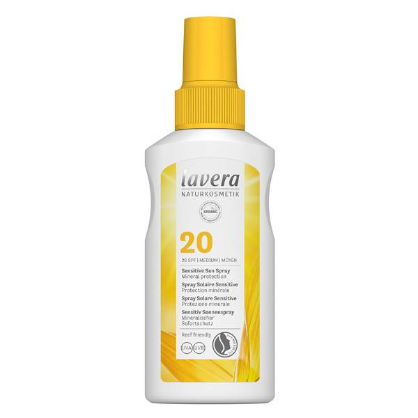 Lavera Spray Solaire Sensitive SPF20 100ml