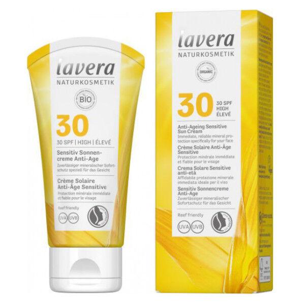 Lavera Crème Solaire Anti-Âge Sensitive SPF30 50ml