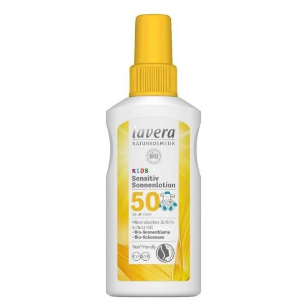 Lavera Lotion Solaire Sensitive Kids SPF50+ 100ml
