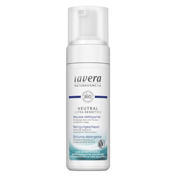 Lavera Neutral Ultra Sensitiv Mousse Nettoyante Bio 150ml