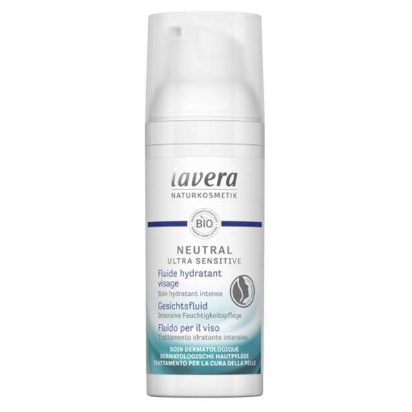 Lavera Neutral Ultra Sensitiv Fluide Hydratant Visage Bio 50ml