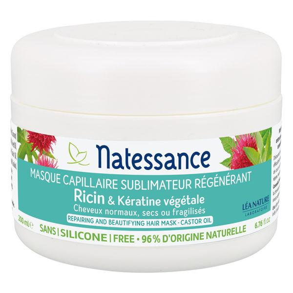 Natessance Masque Capillaire Ricin 200ml