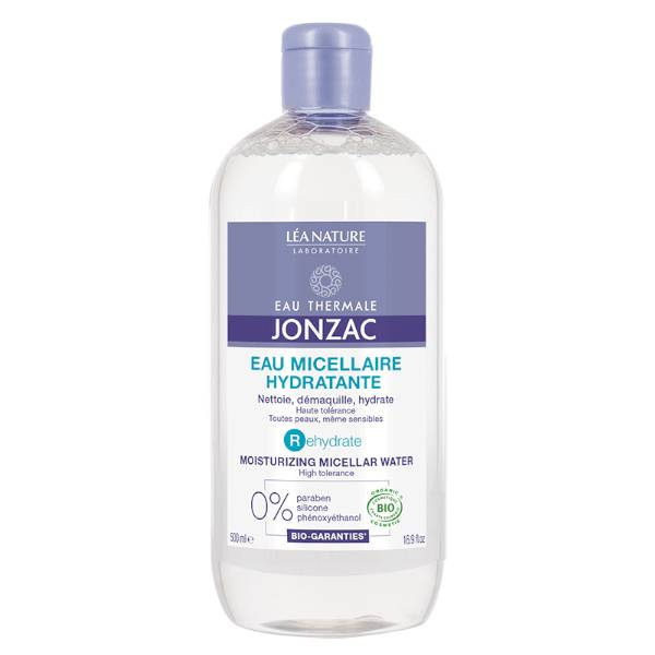 Jonzac Rehydrate Eau Micellaire Hydratante Bio 500ml