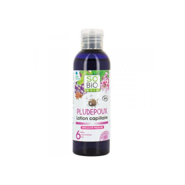 So'Bio Étic Cheveux Lotion Capillaire Pludepoux 6 Huiles Essentielles Bio 100ml