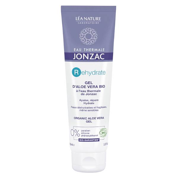 Jonzac Rehydrate Gel Thermal Aloe Vera Bio 150ml