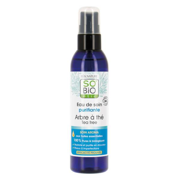 So Bio Etic So'Bio Etic Eau de Soin Purifiante Arbre à Thé Bio 100ml