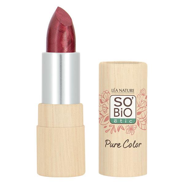 So'Bio Étic Pure Color Rouge à Lèvres Voile Nacré Bio N°21 Violet Chromé