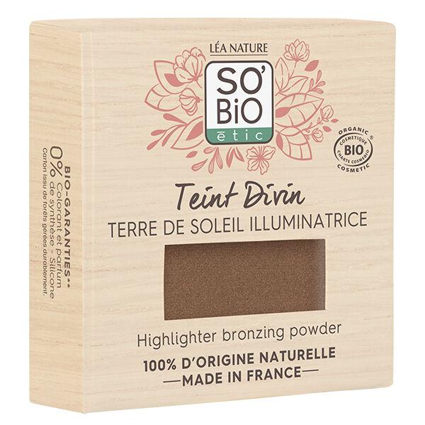 So'Bio Étic Pure Color Fard à Paupières Bio N°02 Brun Solaire 3g