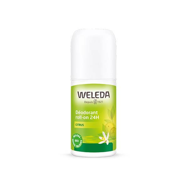 Weleda Déodorant Citrus 24h Roll-on 50ml