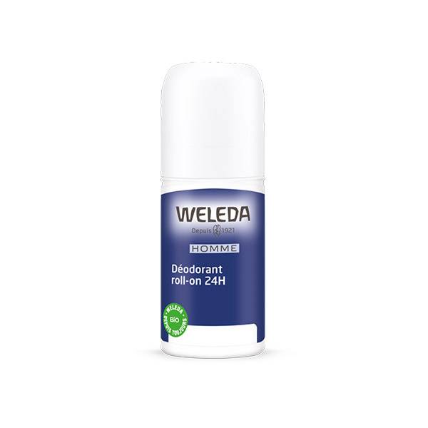Weleda Déodorant Homme 24h Roll-on 50ml