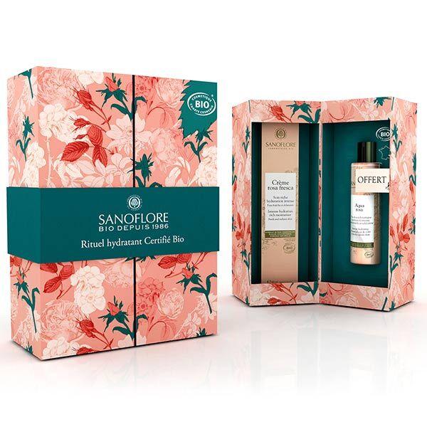 Sanoflore Rosa Fresca Coffret Rituel Hydratant Bio