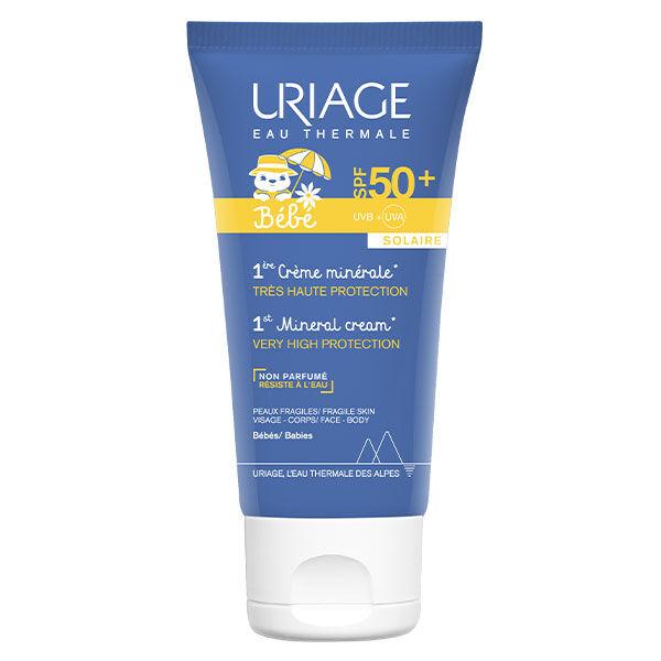 Uriage Bébé 1ere Crème Minérale SPF50+ 50ml
