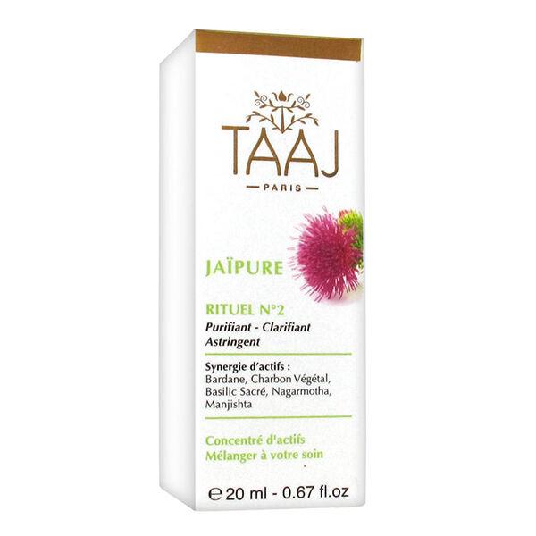 TAAJ - Jaipure - Rituel Numéro 2 Purifiant Clarifiant Astringent 20ml