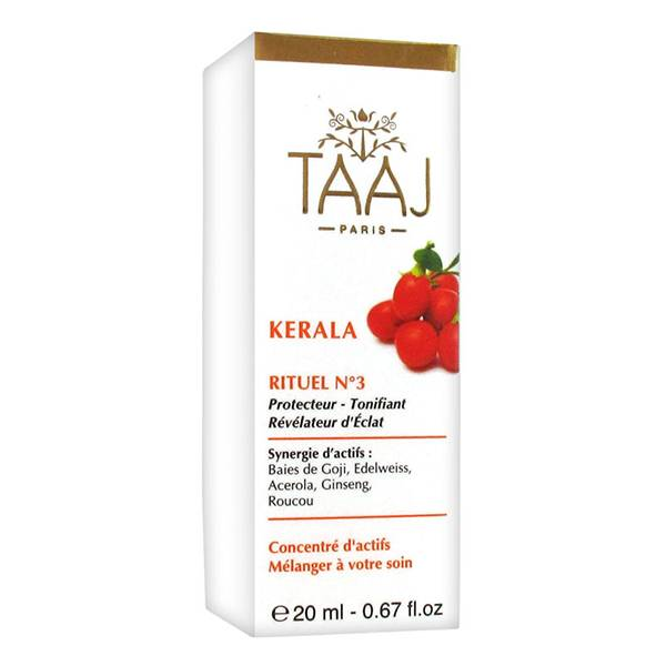 TAAJ Kerala Rituel Numéro 3 Éclat 20ml