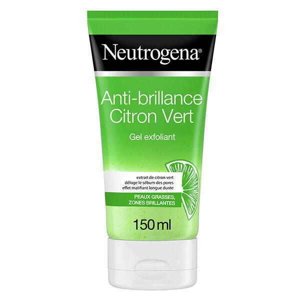 Neutrogena Anti-brillance Citron vert Gel Exfoliant 150ml