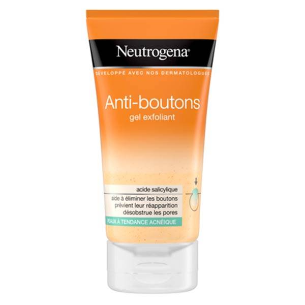 Neutrogena Visibly Clear Anti-Boutons Gel Exfoliant 150ml