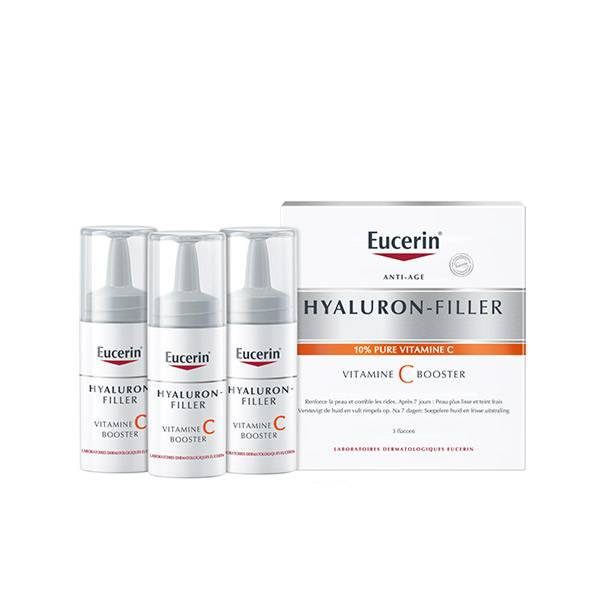 Eucerin Hyaluron Filler Vitamine C Booster Sérum Anti-Age 3 flacons