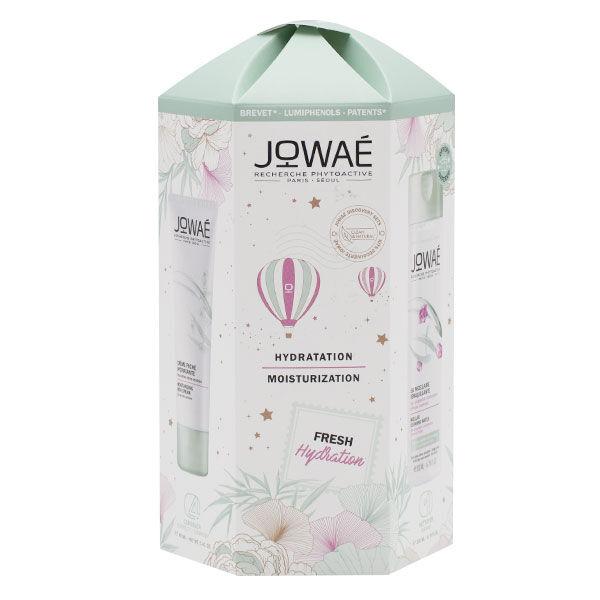 Jowaé Coffret Hydratation Crème Riche Hydratante 40ml + Eau Micellaire Démaquillante 200ml Offerte