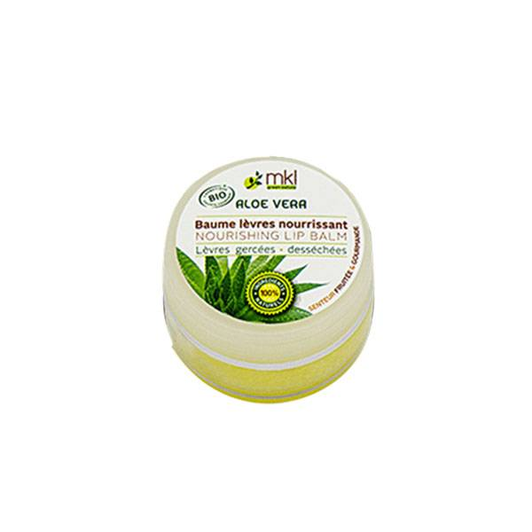 MKL Green Nature Baume Lèvres Aloe Vera 'Bio' 100 % 10ml