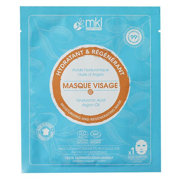 MKL Green Nature Masque Visage Hydratant Régénérant Bio